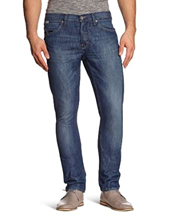 Blend - Jean - Coupe Droite - Homme - Bleu (961) - FR : 29W/32L (Taille fabricant : 29/32)