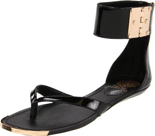 Vince Camuto Women's Kastern Sandal,Black,8 M US
