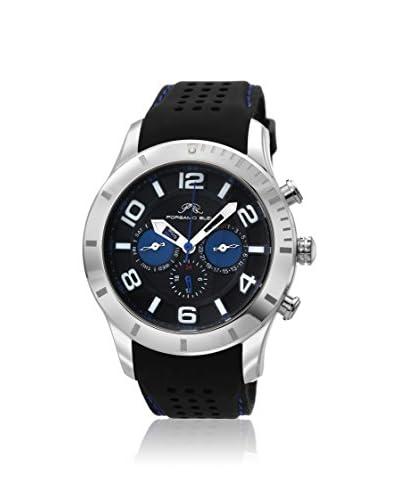 Porsamo Bleu Men's 212BETR Etienne Black Stainless Steel Watch