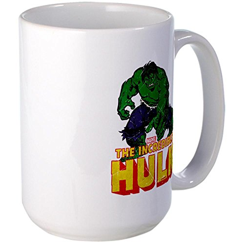 Cafepress Hulk Reaching Large Mug Large Mug - Standard Multi-Color