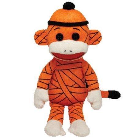 Ty Beanie Babies Sock Monkey - Mummy - 1