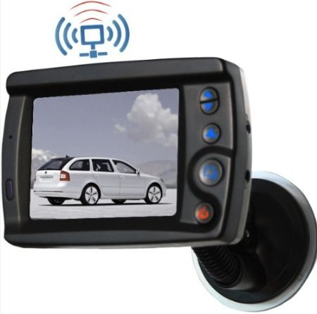 Thumb 3.5 Inch Digital Screen Tft Lcd Color Monitor Built-In 2.4Ghz Wireless Car Monitor + Free Thumb Brand Bracelet Gift front-1064106