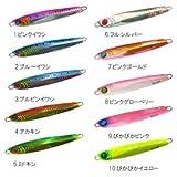 ハヤブサ(Hayabusa) ルアー FINA バーチカルメタルジグ ジャックアイ ストラッシュ 120g アカキン  FS420-120-4