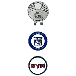 NHL New York Rangers 2 Marker Cap Clip