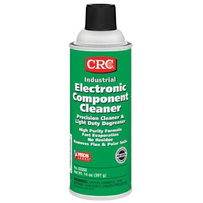 Electronic Component Cleaners - 16-Oz. Aerosol Electronic Component Cleaner [Set Of 12]