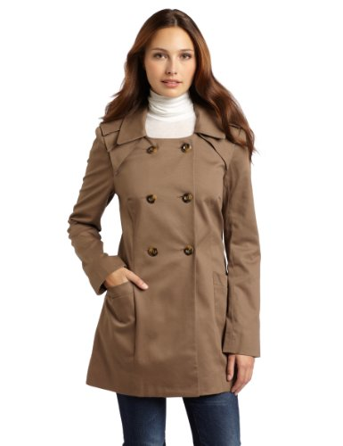 BCBGeneration Women's Pleated Coat