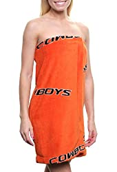 NCAA Oklahoma State Cowboys Ladies Bath Wrap - Orange (Medium/Large)