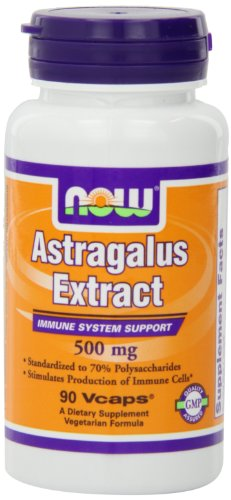 Now Foods Astragalus 70% Extractract 500mg, Veg-capsules, 90-Count (Astragalus Extract compare prices)
