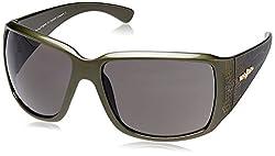 Mayhem UV Protected Wrap Sunglasses (Green) (MAYS-8004-407)