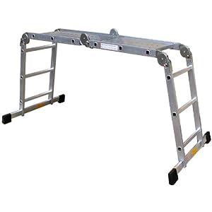 probautech Aluminium Vielzweckleiter 4 x 3 Sprossen mit Plattform, 10025  BaumarktKritiken und weitere Infos