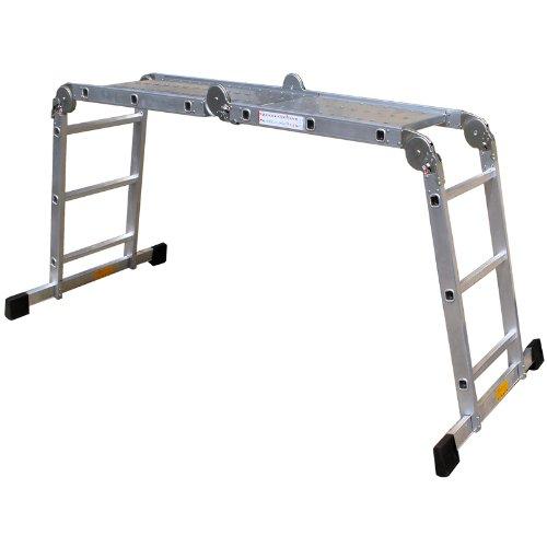 pro-bau-tec-Aluminium-Vielzweckleiter-4-x-3-Sprossen-mit-Plattform-10025