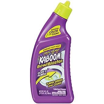 Arm & Hammer 57037-35125 Kaboom BowlBlaster Liquid Toilet Cleaner, 24 oz (Pack of 8)