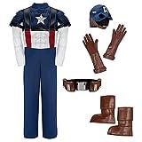 Disney Store Captain America Costume for Boys - Medium 7 / 8