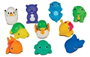 Munchkin 10 Squirtin' Lake Buddies Bath Tub Toy