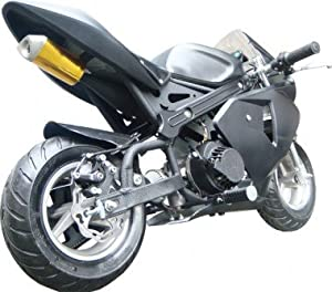 tuning pocket bike 49cc matt mit extra seilzug auto. Black Bedroom Furniture Sets. Home Design Ideas