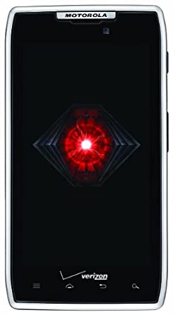 Motorola DROID RAZR 4G Android Phone, White 16GB (Verizon Wireless)