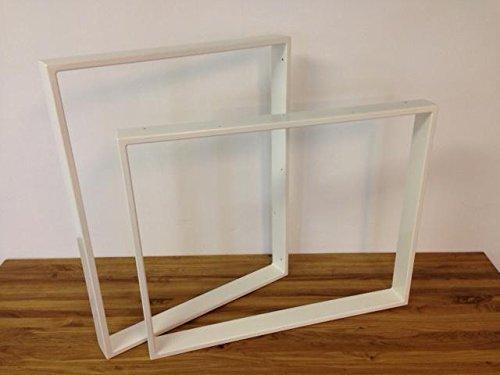 Tischgestell-Stahl-TR80w-700mm-breit-Tischuntergestell-Tischkufe-Kufengestell