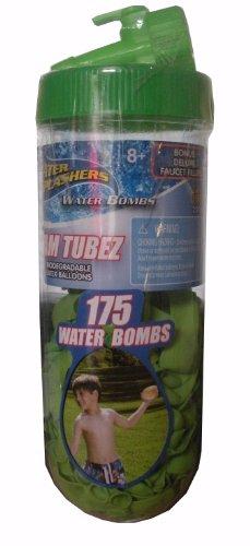 Water Splashers Water Bombs Team Tubez - Assorted Colors - 1