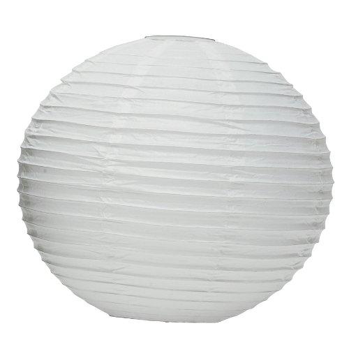 Weddingstar-Round-Paper-Lantern-12-White