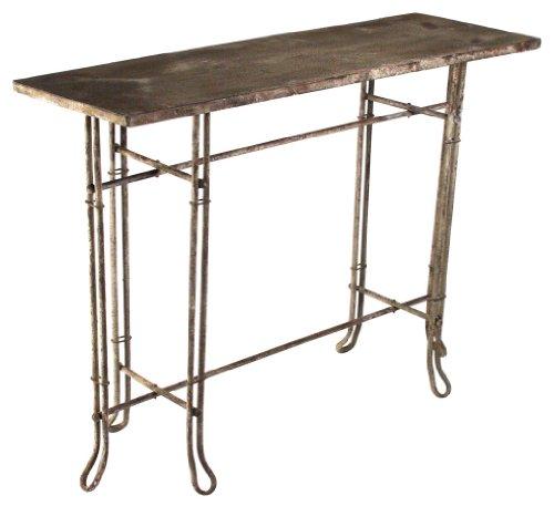 Cheap ZENTIQUE HR10279 Rustic Metal Console Table (HR10279)