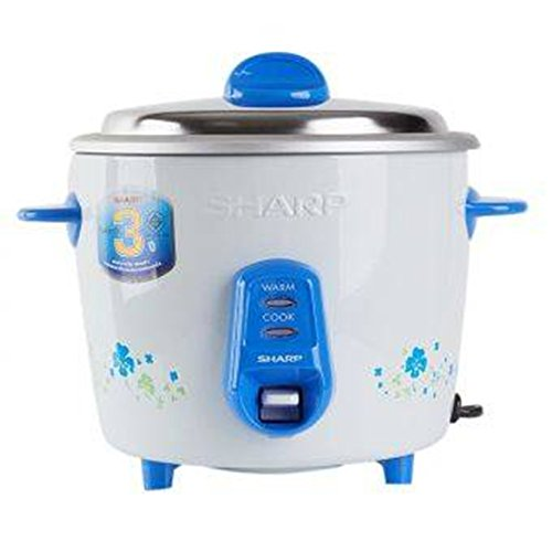Rice Cooker 2.5Cups (0.6 Liter), Sharp Ksh-206