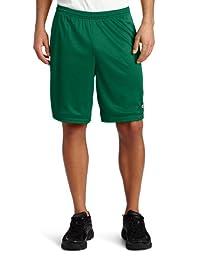 Champion Men\'s Long Mesh Short With Pockets, Varsity Green, X-Large