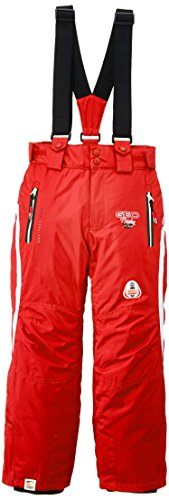 geographical-norway-wendy-pantalon-de-ski-fille-rouge-noir-fr-14-ans-taille-fabricant-14