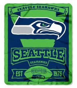 NFL-Officially-Licensed-50-X-60-Marquee-Fleece-Throw-Blanket-Seattle-Seahawks