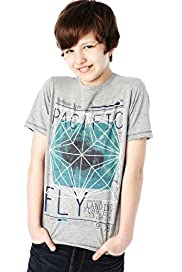 Cotton Rich Pacific Fly T-Shirt with Stay New™