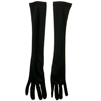18 Inch Adult Nylon Glove - Black