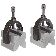 Brown & Sharpe 599-750-1 V Block with Clamp