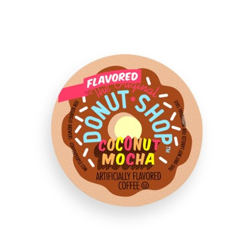 36 Count - Coffee People Donut Shop Flavored Coconut Mocha K-Cups For keurig Brewers by Coffee People