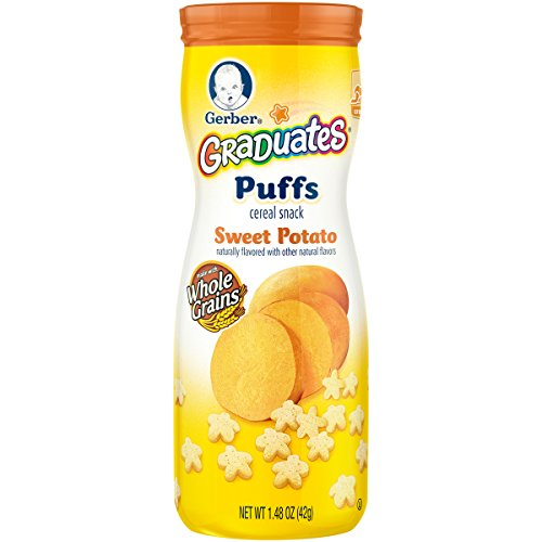 Gerber Graduates Puffs - Sweet Potato - 1.48 oz (First Baby Finger Food compare prices)