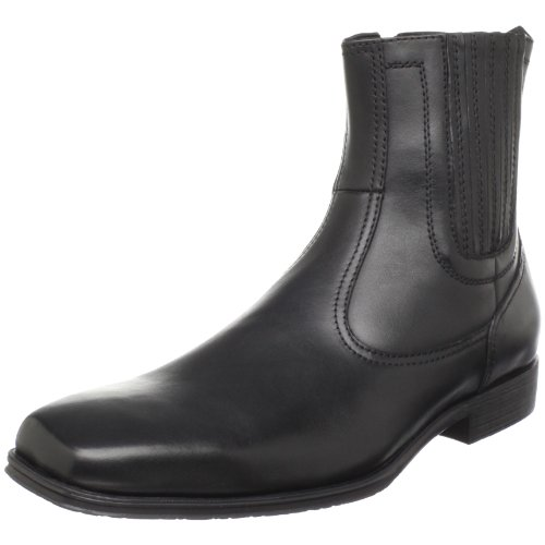 Donald by DJP Men's Aboard Boot,Black Suede,8 M US