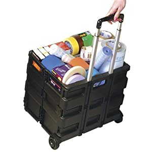 Rolling Cart - Pack-n-Roll Large - Collapsible - (Black)