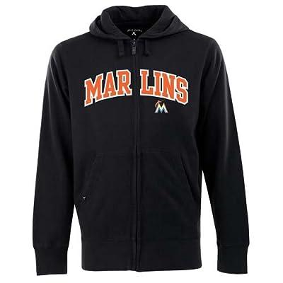 MLB Miami Marlins Men's Full Zip Hoodie