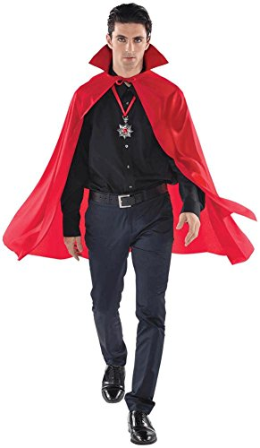 cape mid length red - adult
