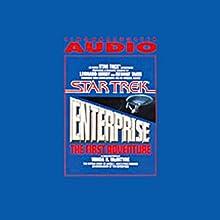 Star Trek: Enterprise, the First Adventure (Adapted) Audiobook by Vonda N. McIntyre Narrated by Leonard Nimoy, George Takei