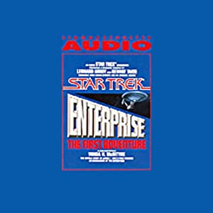 Star Trek: Enterprise, the First Adventure (Adapted) Audiobook