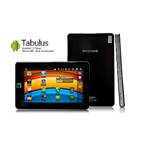 Nine Dragon Tabulus - Android 2.2 Tablet Phone with 7 Inch Touchscreen