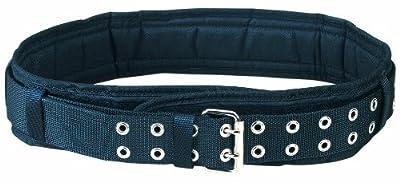 Custom Leathercraft 5623 Padded Comfort Belt, 3 Inch Wide