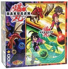 Bakugan Battle Brawlers 100 Piece Puzzle - Dan and Shun - 1