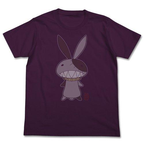 京騒戯画 パクパク&げじげじTシャツ マットパープル サイズ:S