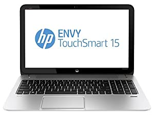 HP Envy TouchSmart 15t-j100 Quad Edition Notebook PC, (4th Gen Intel Core i7-4700MQ processor, 16 GB DDR3 RAM, 1024GB hybrid hard drive, windows 8.1,  silver)