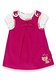 2 Piece Pure Cotton Pinafore Outfit