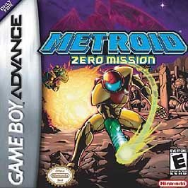 Metroid Zero Mission & Spyro Orange The Cortex Conspiracy Game Boy Advance Double Pack Set
