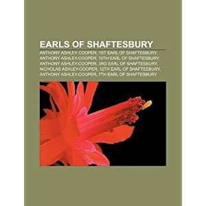 earls of shaftesbury  anthony ashley cooper  1st earl of shaftesbury
