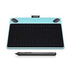 Wacom CTL-490/B0-CX Draw Pen Tablet ( inch), Mint Blue