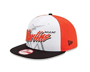 MLB Miami Marlins NE Gamer 9Fifty Snapback Cap by New Era