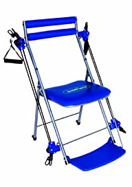 Chair Gym Total Body Workout , Blue